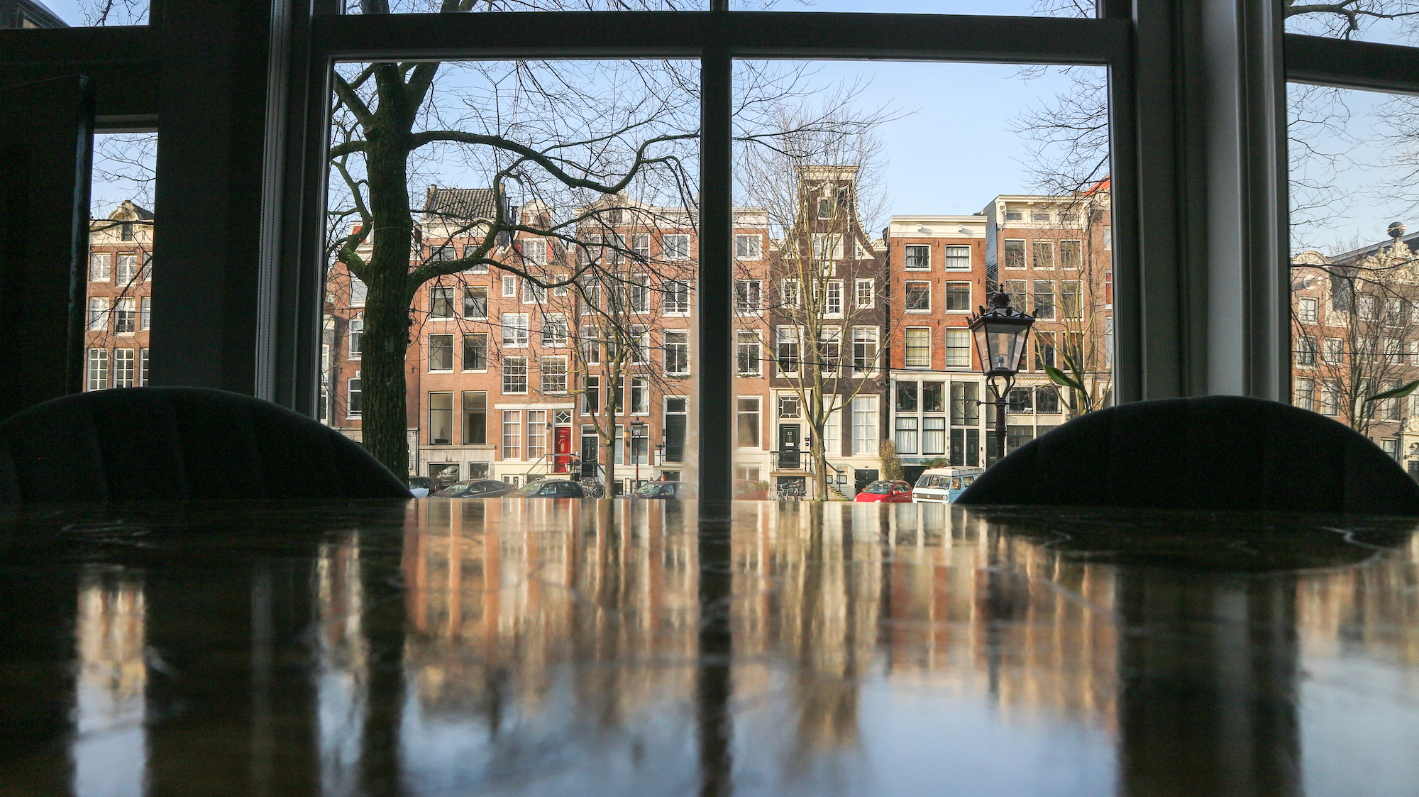vergader of trainingslocatie de Singel Amsterdam